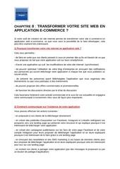 m2   chapitre 8   application web en e commerce