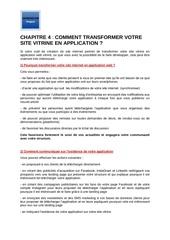 m5   chapitre 4    application web