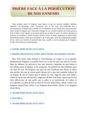 Fichier PDF prire face  la perscution de nos ennemis by zogo el candelabro