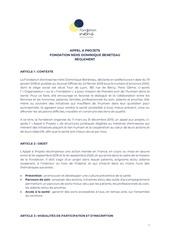 Fichier PDF reglement appel a projets fondation nehs