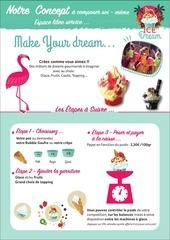 detail menu sweet dreams