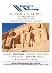 egypte voyages delannoy carsdelannoycom