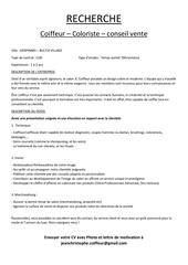 Fichier PDF recrutement
