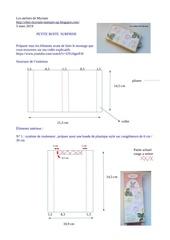 Fichier PDF petite boite  surprise version rectifier