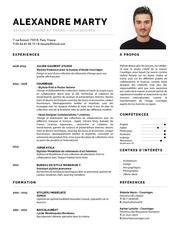 Fichier PDF cv alexandremarty