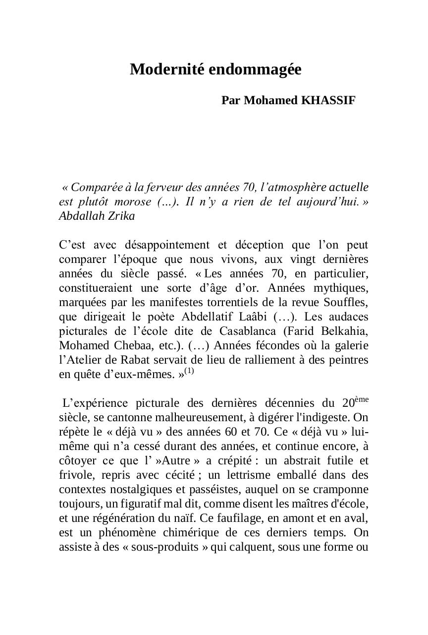 Aperçu du document ModernitéEndomagée2 (2).pdf - page 1/6