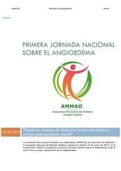 primera jornada nacional sobre el angiodema   ammao news