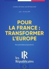 projet europe lr