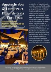 diner de gala au fort jesus