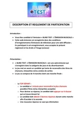 reglement web emission