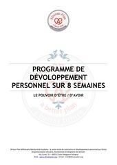 Fichier PDF programme de dvoloppement personnel sur 8 semaines v2