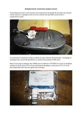 remplacement connecteur pompe essence