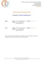 afpb inscriptions et calendrier 2019