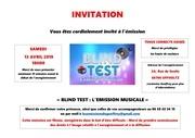 invitation droits image blind test