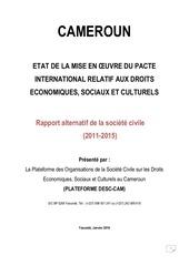 rapportalternatif desccameroun 2016