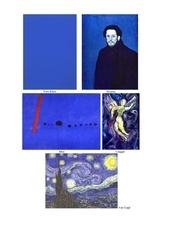 bleus tableaux