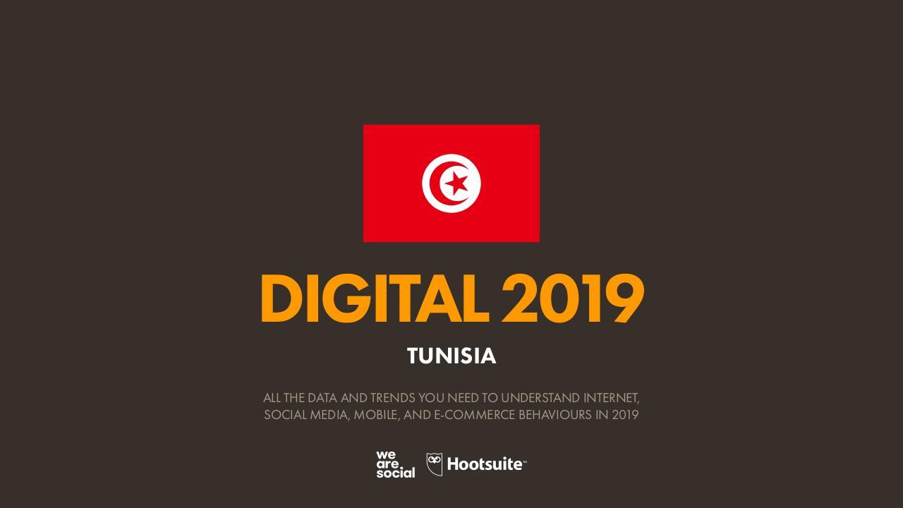 datareportal digital2019 tunisia - Fichier PDF