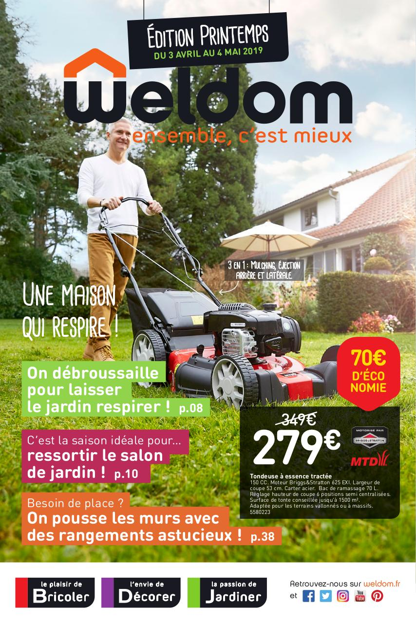 WELDOM Linselles Catalogue Printemps 3 Avril au 4 Mai 2019 - Fichier PDF