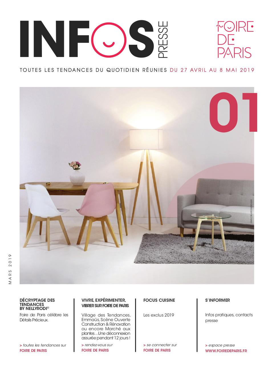 INFOS PRESSE HABITAT FOIRE DE PARIS 15 - Fichier PDF