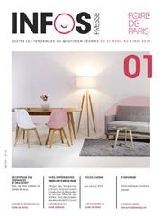 infos presse habitat foire de paris  2019