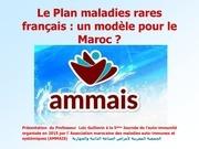Fichier PDF le plan maladies rares francais  un modele a suivre au maroc