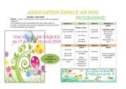 programme  paques pdf