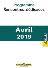 agenda des evenements avril