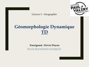 Fichier PDF tdgeomorphotouskevin