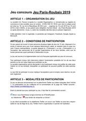 Fichier PDF reglementjeuconcoursparisroubaix