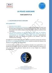 aleph experts fiche 10 surete la police judiciaire