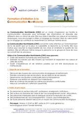 Fichier PDF programme cnv