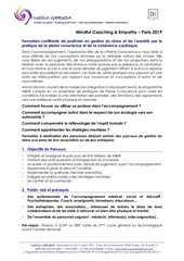 programme mindfulcoach