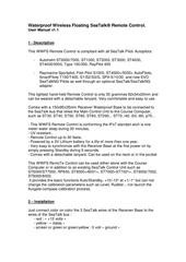 wwfs remote control   user manual v11
