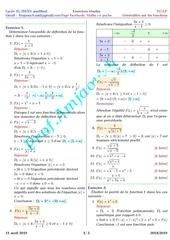 les fonctions numeriques