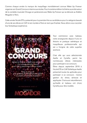 arcticle concours