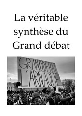 la veritable synthese du grand debat