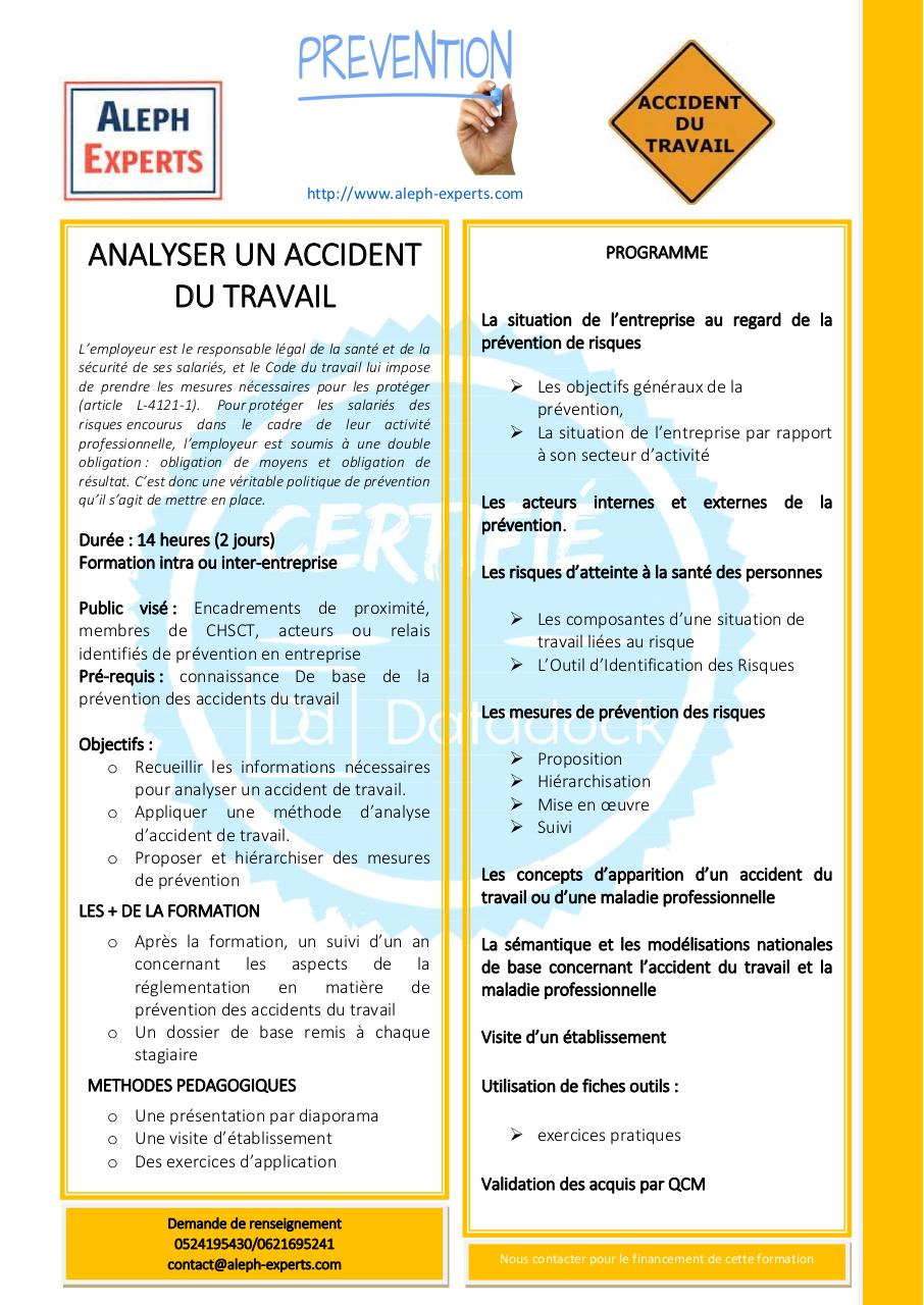 Aperçu du document ANALYSER UN ACCIDENT DU TRAVAIL -ALEPH EXPERTS.pdf - page 1/1
