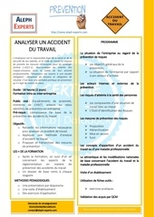 analyser un accident du travail  aleph experts