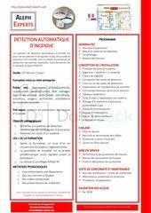 Fichier PDF apsad r7 detection automatique dincendie   aleph experts