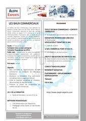 Fichier PDF les baux commerciaux   aleph experts