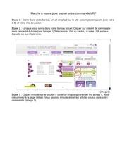 Fichier PDF marche a suivre pour passer votre commande lrp