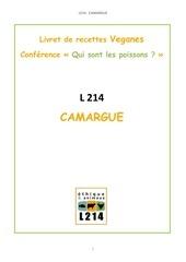 livret de recettes l214 camargue