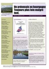un ardennais en bourgogne journal mensuel avril 2019