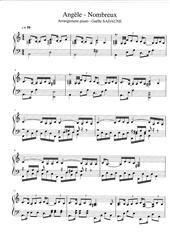 angele   nombreux piano