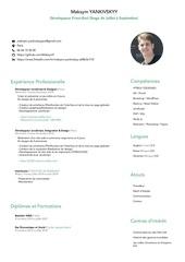 Fichier PDF cv maksym yankivskyy