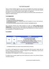 Fichier PDF petit point reglement