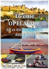 programme 16 opelaiade 2019