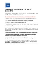 m22   chapitre 2   strategie de ciblage et denchere