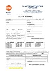 Fichier PDF bulletin adhesion cfdt