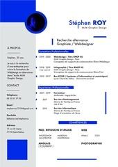 Fichier PDF cv test